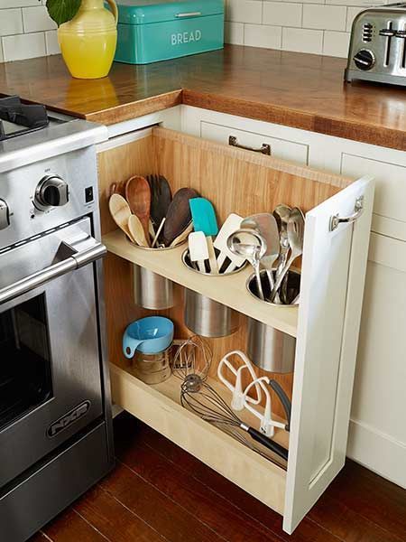 Condensed Wheelchair Accessible Kitchen Storage North Coast Accessible Homes